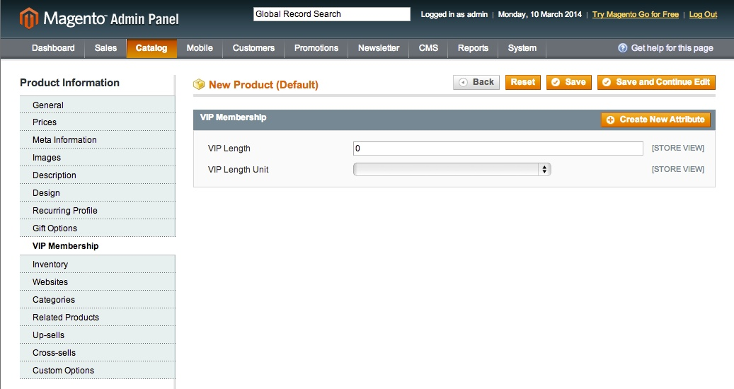 Undo add to cart for Magento